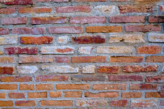 Background of brick wall texture red Stock Photos