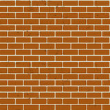 Background of Brick Wall Texture Seamless Pattern Vector Illustr. Ation Royalty Free Stock Photo