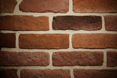 Background of brick wall. Texture tinting. close-up Stock Image