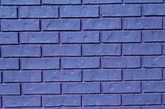 Background bricks in purple Royalty Free Stock Image