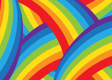 Background. Bright abstraction of the colors of the rainbow vector illustration