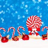 Background bright candy caramel Stock Photo