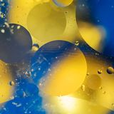 Background of bright colored circles, a close-up shot.  royalty free stock photography