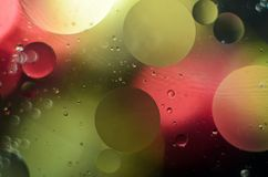 Background of bright colored circles, a close-up shot.  royalty free stock image