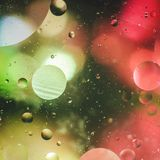 Background of bright colored circles, a close-up shot.  royalty free stock photos
