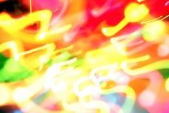 background bright lights Στοκ Φωτογραφίες