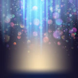 Background with bright magic lights. EPS 10 Royalty Free Stock Photography