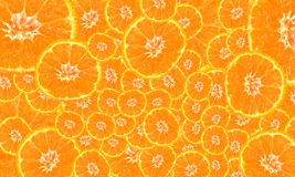 Background of bright mandarin Royalty Free Stock Photo