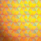 Background bright multicolored triangles. Vector illustration Stock Images