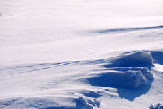 Background from the bright shined snow Royalty Free Stock Image