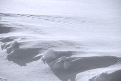 Background from the bright shined snow Royalty Free Stock Images