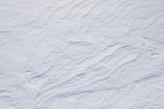 Background from the bright shined snow Stock Photography