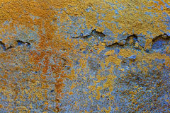 Background bright yellow concrete Royalty Free Stock Images