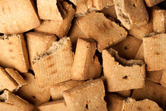 Background broken dog treats Stock Image