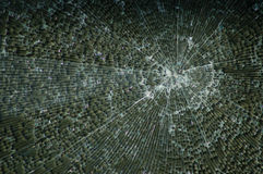 Background, broken glass Royalty Free Stock Photos