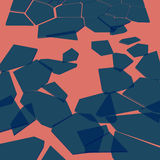 Background broken glass. Abstract background vector shards of glass on a pink background Royalty Free Stock Photo