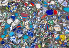 Background of broken plates Royalty Free Stock Images