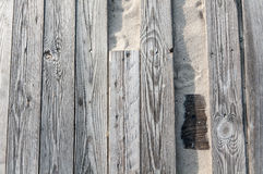 Background of the broken wooden boards Royalty Free Stock Images