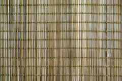A background of brown bamboo wood weaving in thin slices. Concept for design stock images