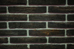 Background of brown brick wall texture Stock Photography