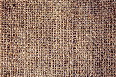 Background of a brown burlap bag Royalty Free Stock Photo