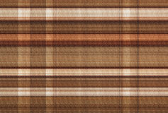 Background from Brown Colors.Check Texture. Royalty Free Stock Image