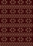 Background brown gold geometric pattern. Stock Photography