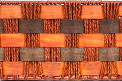 Background of brown handicraft weave texture surface Royalty Free Stock Image