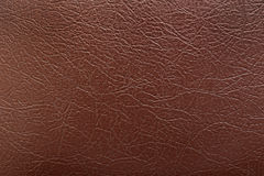 Background of brown leather Royalty Free Stock Image