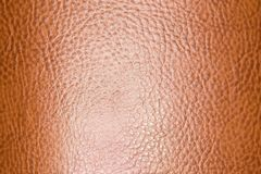 Background of brown leather. Photo of abstract background Stock Photography