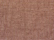 Background brown linen Royalty Free Stock Photos