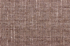 Background brown linen Royalty Free Stock Images