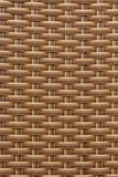 Background of a brown plastic weave pattern Royalty Free Stock Photo