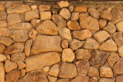 Background of brown rock. A background of brown rock Royalty Free Stock Photos
