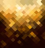 Background with a brown tile. Vector diagonal background from a banner Royalty Free Stock Images