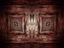Background with brown wood Stock Image