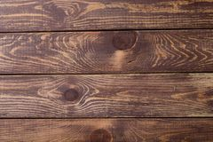 Background of brown wooden Royalty Free Stock Image