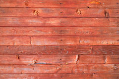 Background of brown wooden planks. A wall of brown wooden planks Royalty Free Stock Photography