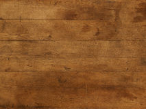Background brown wooden table plate. Wood board table brown individual boards Royalty Free Stock Photography
