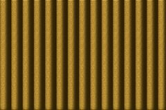 Background with brownish green stripes. Brownish green striped background with a convex structure Royalty Free Stock Photography