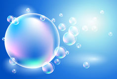 Background with bubbles Royalty Free Stock Photography