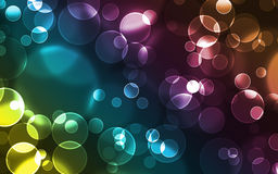 Background - bubbles. Abstract colourful bubbles. Add your text Stock Image