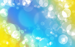 Background - bubbles. Abstract colourful bubbles. Add your text Stock Images