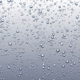 Background with bubbles. Stock Photo