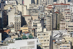 Background building architecture Sao Paulo Royalty Free Stock Photos