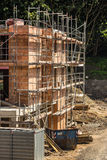 Background of building construction site. building under construction Stock Image