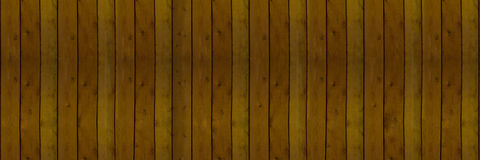 Background built of smooth planks of natural light brown Royalty Free Stock Image