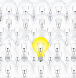 Background bulb Royalty Free Stock Images