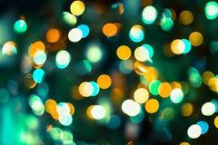 background bulbs christmas defocused image lights Σκηνικό διακοπών bokeh στοκ εικόνες
