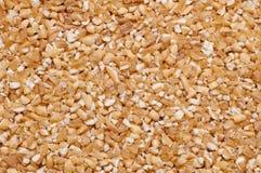 Background of bulgar wheat Stock Image